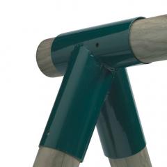 Raccord balançoire rond 100/100 mm