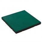 Dalle en caoutchouc 50x50x4,5 cm avec broches