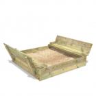 Bac à sable Flippey 150x165x30 cm