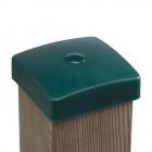 Capuchon plastique pour poteau carré