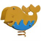 Animal sur ressort baleine